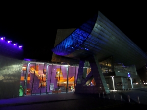 The Lowry in Salford - Topic of the poem