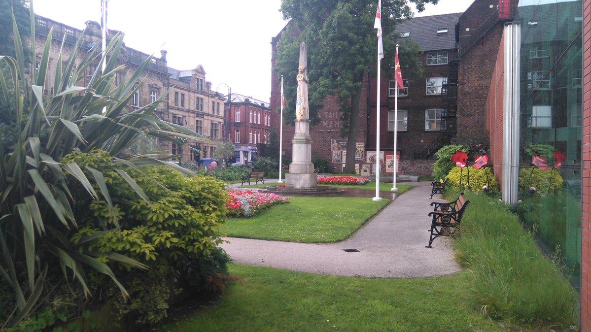 Gardens - Fusiliers Museum Bury