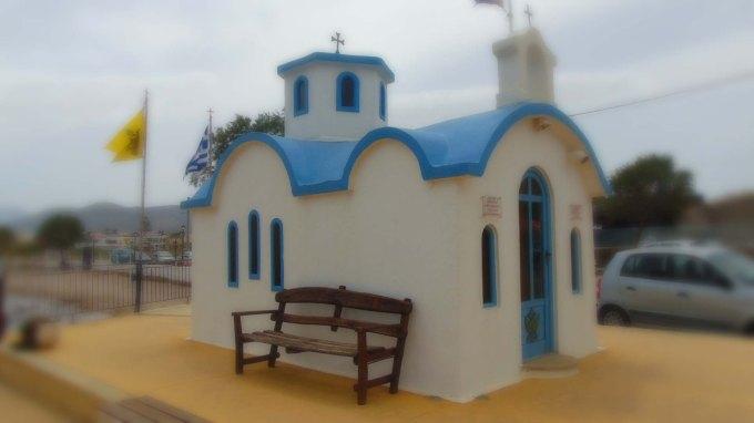 Blurred Church